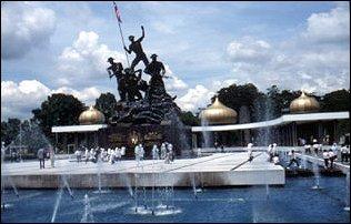 das Nationalmonument, Kuala Lumpur, Malaysia