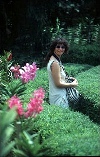 im Orchideen-Garten der Lake Gardens, Kuala Lumpur, Malaysia