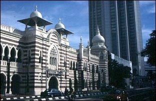 das Sultansgebäude am Merdaka-Square, Kuala Lumpur, Malaysia