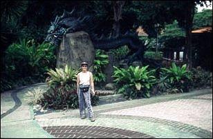 der Dragon Trail auf der Insel Sentosa, Singapur