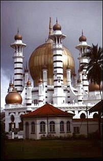 die Ubudiah Moschee in Kuala Kangsar, Malaysia