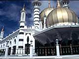 die Ubadiah Moschee in Kuala Kangsar, Malaysia