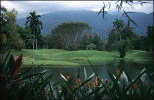 die Lake Gardens von Taiping, Malaysia