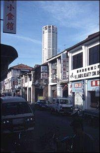 die Innenstadt von Georgetown, Malaysia