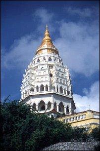 Kok Lok Si Tempel in Georgetown, Malaysia
