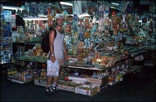 im Markt von Georgetown, Malaysia