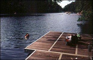 der Dayang Bunting See soll Kinderglück bringen, Langkawi, Malaysia