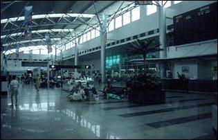 der Flughafen von Langkawi, Malaysia
