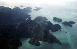 die Langkawi Inseln in Malaysia, Südostasien