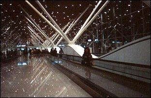 der neue Flughafen von Kuala Lumpur, Malaysia