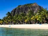 Le Morne im Süden der Insel Mauritius im indischen Ozean