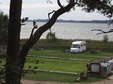 Werder bei Alt-Schwerin, Campingplatz
