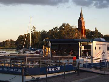 Röbel, am Stadthafen