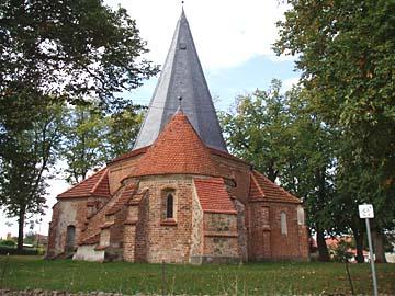 Ludorf, Oktodonkirche, Mecklenburg-Vorpommern