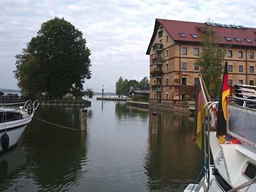 Neustrelitz, Stadthafen