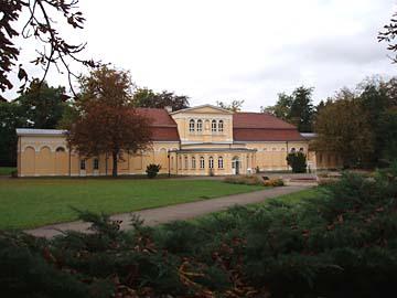 Neustrelitz, Orangerie im Schloßgarten