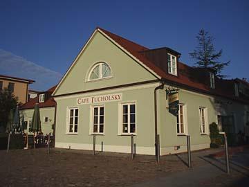 """Rheinsberg, """"Cafe Tucholsky"""""""