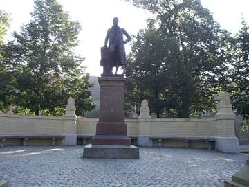 """Neuruppin, """"Friedrich Schinkel-Gedenkstein"""" (Brandenburg)"""