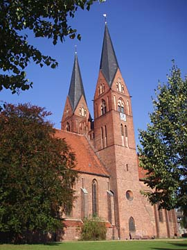 Neuruppin, St. Trinitatiskirche (Klosterkirche), Brandenburg