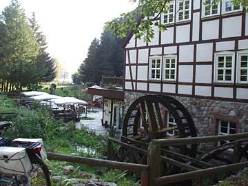 """""""Boltemühle"""", alte Mühe, heute Gasthaus (Brandenburg)"""