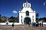 eine Kirche bei San Cristobal in Mexiko