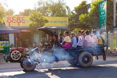 Alternative Antriebsformen für den Personentransport in Myanmar