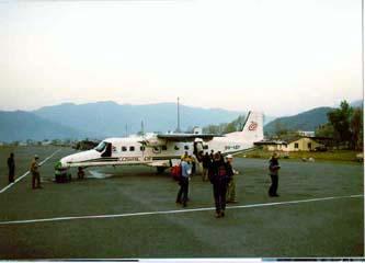 Flughafen Pokhara, Annapurna, Nepal