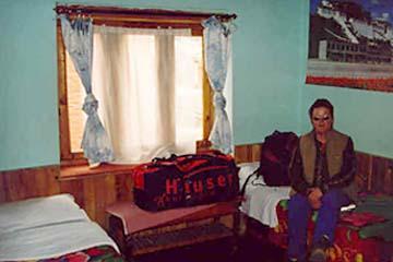 Lodge in Muktinath, Annapurna, Nepal