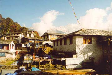 Tadapani, Annapurna, Nepal