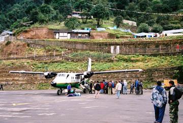 Flughafen von Lukla, Everest-Region, Nepal