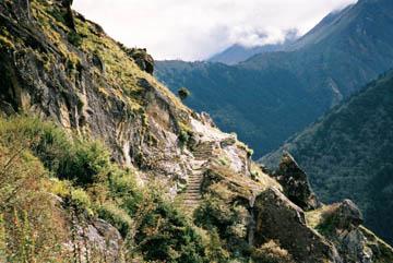 Weg von Khumjung nach Tengboche, Everest-Region, Nepal