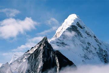Berge im Chukhung Seitental, Everest-Region, Nepal