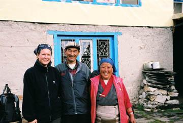 Besitzer der Sonam Friendship Lodge in Dingboche, Everest-Region, Nepal