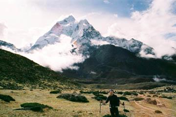 Hochebene hinter Dingboche, Everest-Region, Nepal