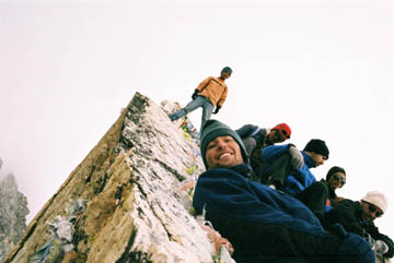 Gipfel des Kala Patar, Everest-Region, Nepal