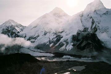 Blick ins Tal vom Gipfel des Kala Patar, Everest-Region, Nepal