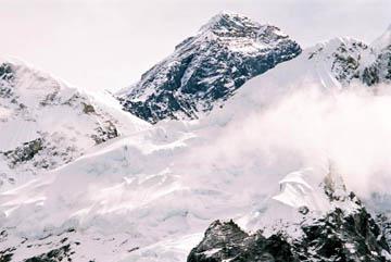 Blick auf den Mount Everest vom Kala Patar, Nepal