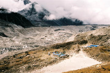 Gorak Shep und Khumbu Gletscher, Everest-Region, Nepal