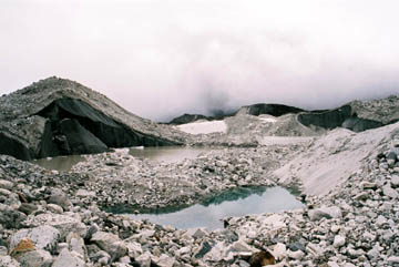 Ngozumpa Gletscher vor Gokyo, Everest-Region, Nepal