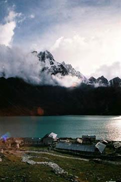 Blick auf den Gokyo Lake, Nepal