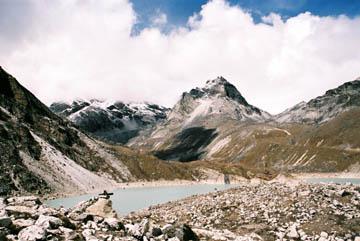 Thonak Tsho, der vierte der Gokyo-Seen, Everest-Region, Nepal