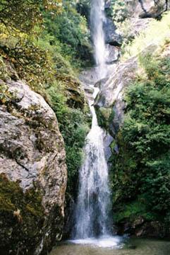 Wasserfall bei Benkar, Everest-Region, Nepal