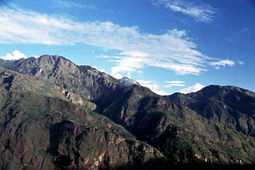 Die Aussicht bei Dhunche im Langtang Trek, Nepal