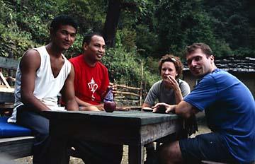 Auf dem Weg nach Tholu Syabru auf dem Langtang Trek