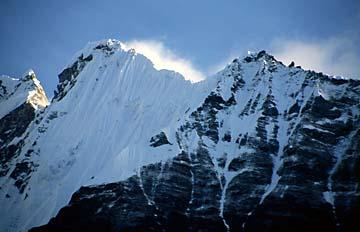 Aussicht auf der Tour zum Kyanjin Peak, Nepal