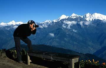 Fotomotive in Laurebina, Langtang Trek