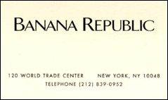 banana republic in New York