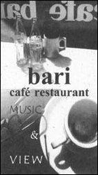 café restaurant bari, broadway, new york