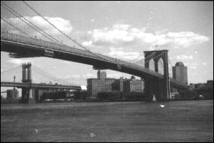 die Brooklyn Brigde, New York