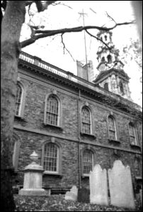 die Trinity Church im Financial District, New York